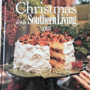 Southern Living 2003 CHRISTmas cookbook and decor